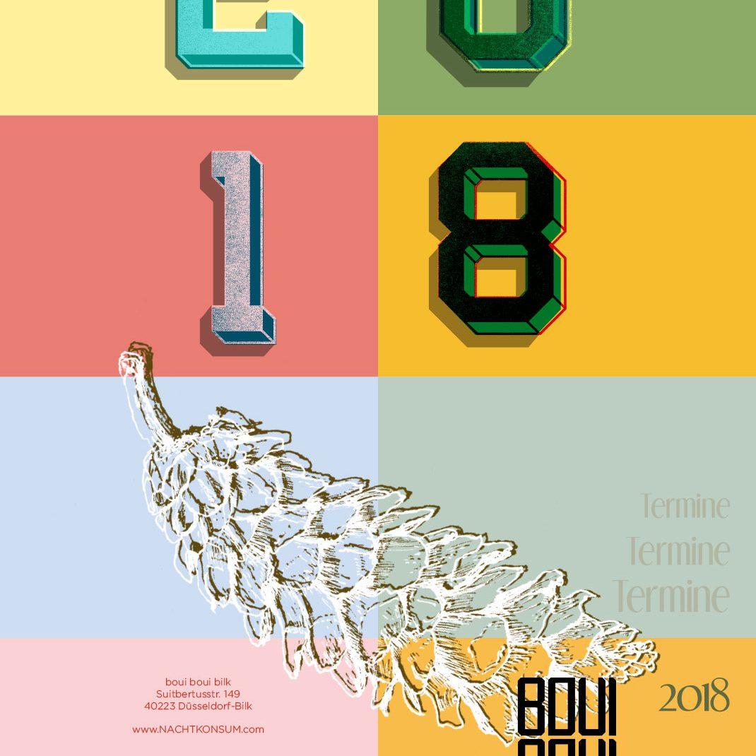 Eventfolder, Illustrated Folder, Type, Cultural events 2018