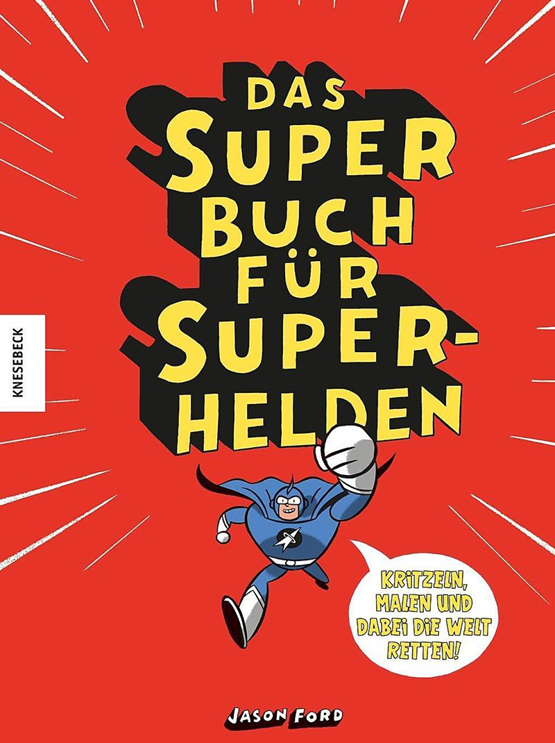 Das Super Buch für Super Helden, farbig, coloured, knesebeck,