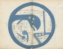 Al-Istakhrî, mappemonde, Iran, XIVe siècle