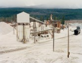 Silica Mine. Revelstoke, British Columbia 1985