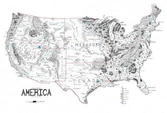 Les États-Unis remis à la mode Terre du milieu: une géographie culturelle?