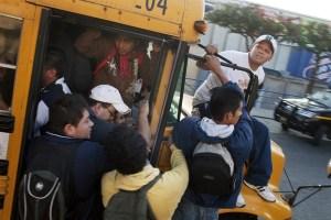 Et encore, le pire danger n'est pas à l'arrière du bus de Guatemala City...