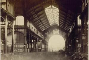 Les fameux pavillons Baltard, construits sous le Second Empire (1877)