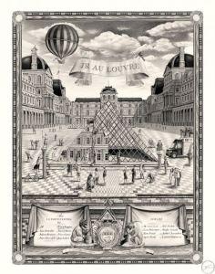 JR au Louvre