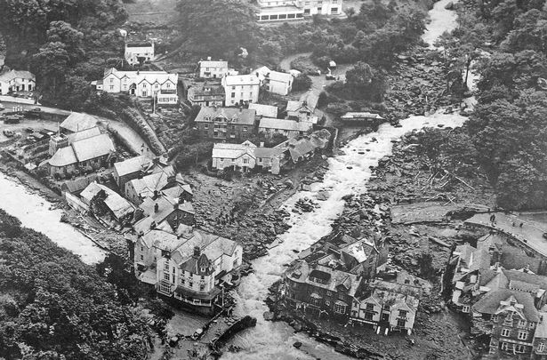 Lynmouth flood 1952