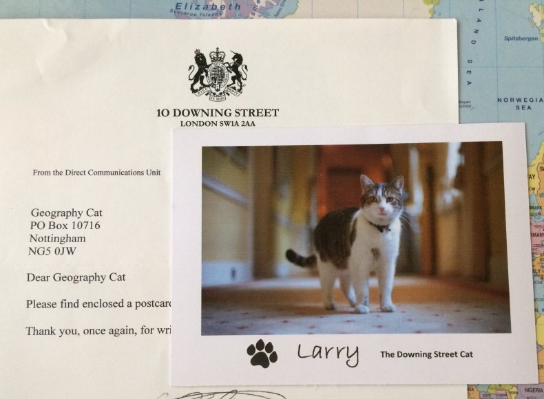 Downing Street larry