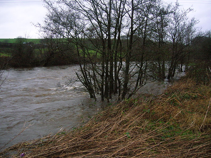Garnock in flood