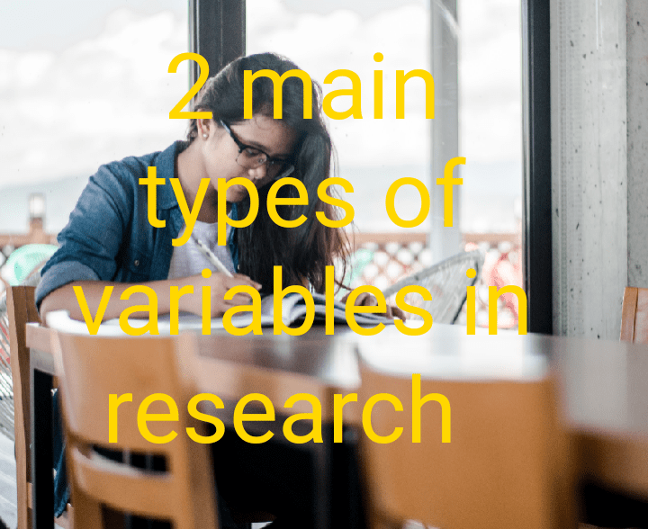 Types of variables in research