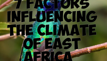 FACTORS influencing the climate of East Africa