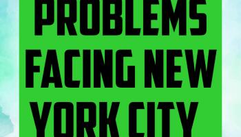 Problems facing new York city