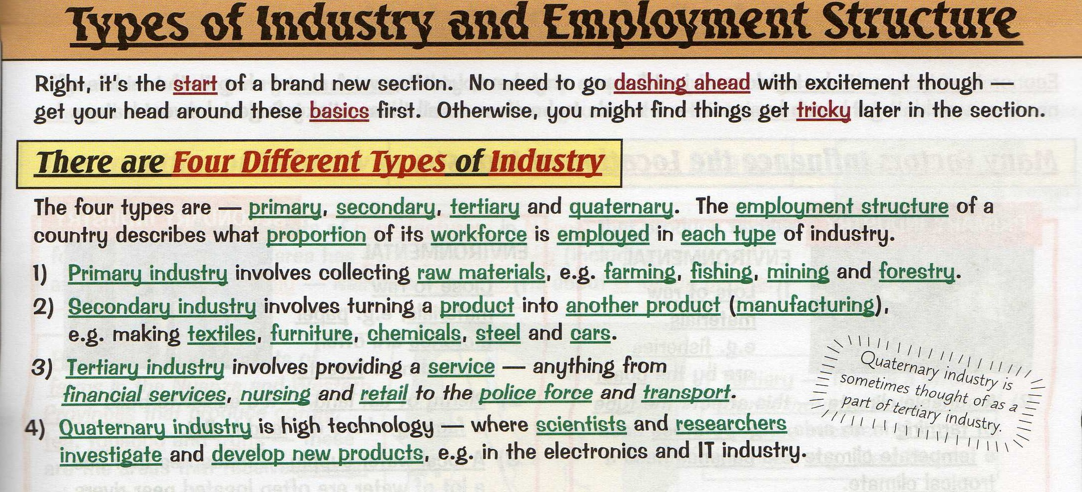 Unit 6 Industrial Systems