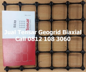 Jual Geogrid Biaxial merk Tensar, tipe SS20, SS30, SS40, TGSG