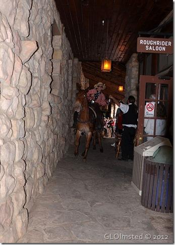 05 Mule rider grabs a cold brew Roughrider Saloon NR GRCA NP AZ (732x1024)