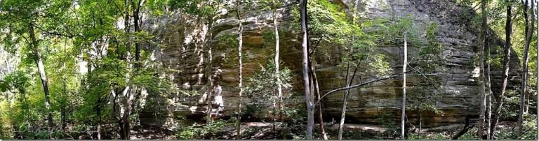 02 Bluff along Kaskaskia trail Starve Rock State Park IL pano 4 (1024x267)