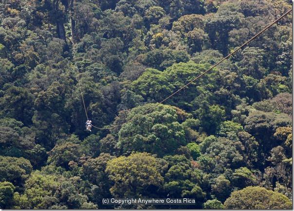 zipline Monteverde