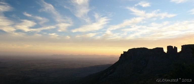 Sunset Camdeboo NP Eastern Cape Graaff-Reinet SA