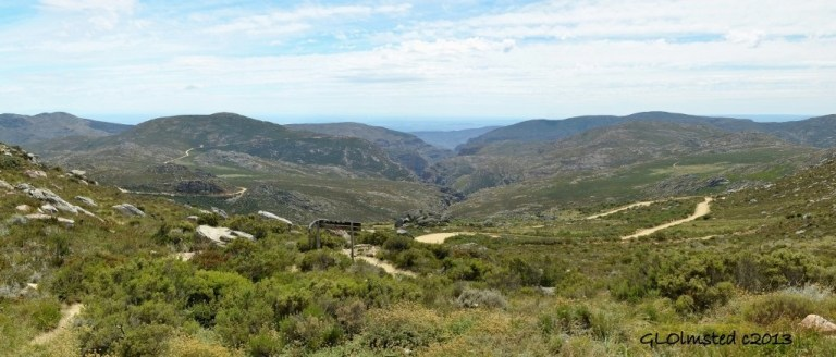 View NE from top of Swartberg Pass SA