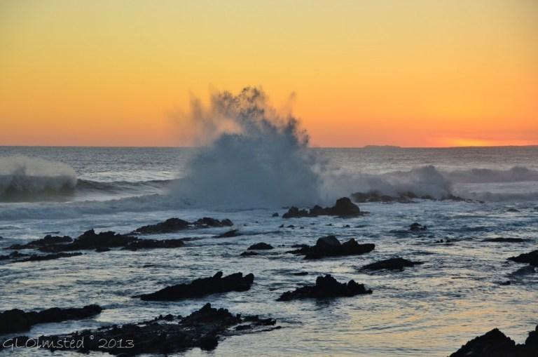 Sunset Storms River Mouth Tsitsikamma NP SA