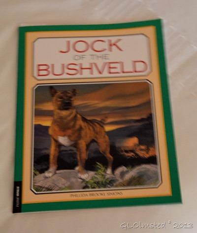 Jock of the Bushveld book Stellenbosch SA