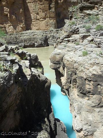 Havasu Creek entering the Colorado River