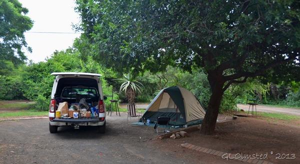 Camp at Lower Sabie Kruger NP SA