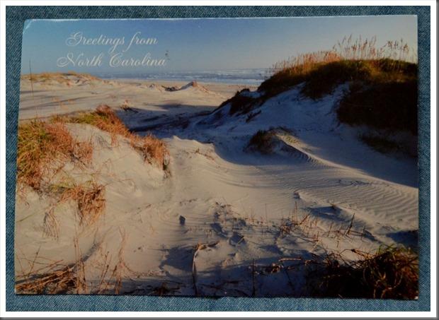 Postcard from North Carolina