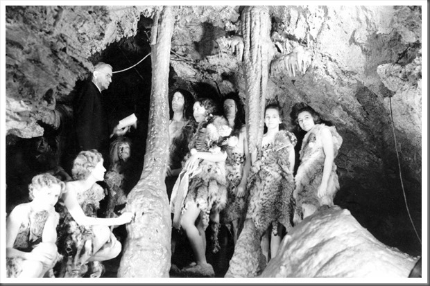 Caveman wedding millers chapel Oregon Caves National Monument 1944 NPS archives