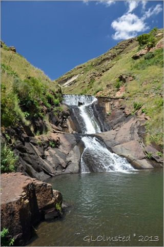 Waterfall Golden Gate Highlands National Park South Africa