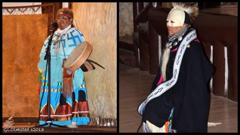 Havasupai healers White Dove & James Uqualla Native American Heritage Days North Rim Grand Canyon National Park Arizona