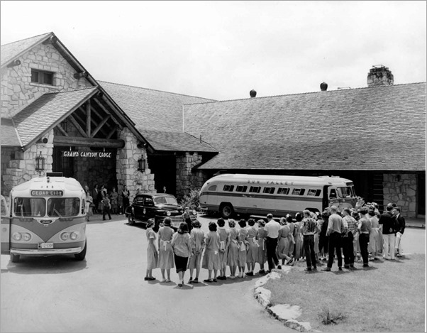 1949 Sing-Away at Grand Lodge North Rim Grand Canyon National Park archives