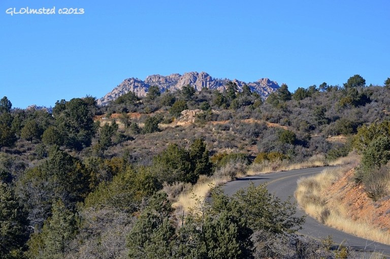 Granite Mountain from Granite Basin Road Prescott National Forest Prescott Arizona