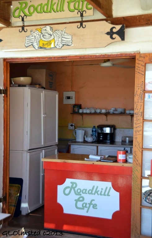 Roadkill Cafe at Ronnies Sex Shop Route 62 Barrydale South Africa