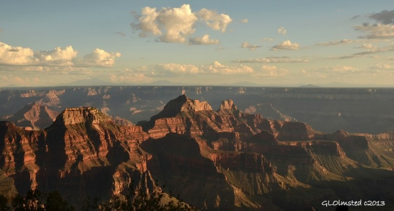 Grand Canyon from North Rim Arizona