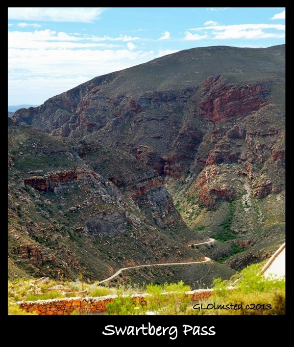 Switchbacks Swartberg Pass South Africa