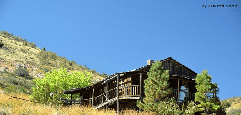 Old building Gold King Mine Ghost Town Jerome Arizona