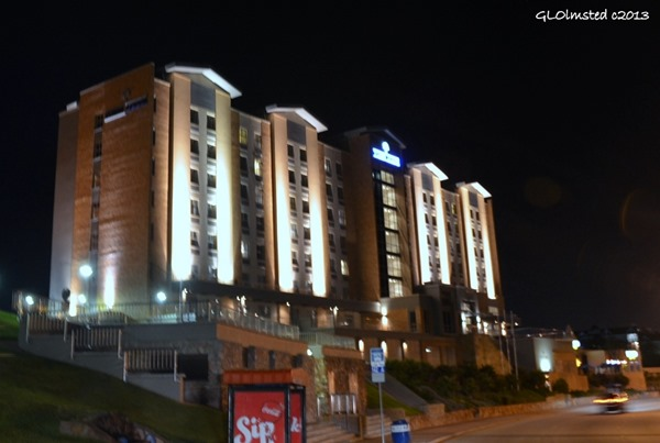 Town Lodge at night Port Elizabeth South Africa