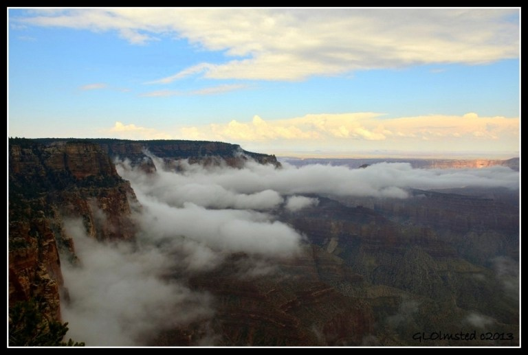 Fog in Grand Canyon Arizona