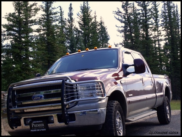 Gaelyn's truck Kaibab National Forest Arizona