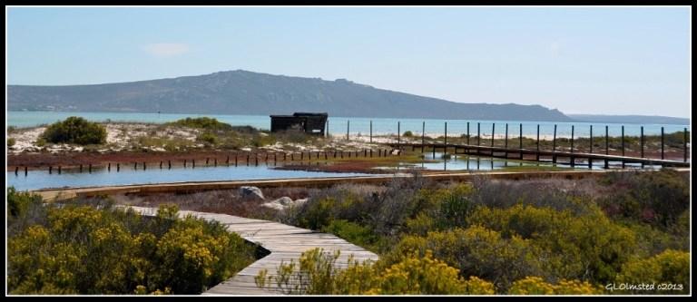 Seeberg bird hide along Saldanha Bay West Coast National Park Langebaan South Africa
