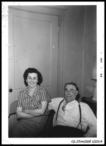 Grandma Bea & Grandpa Butch May 1958