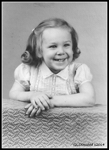 Gail 3 yrs old Studio photo 1957 Illinois