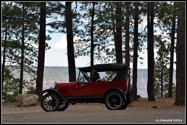 Classic car North Rim Grand Canyon National Park Arizona