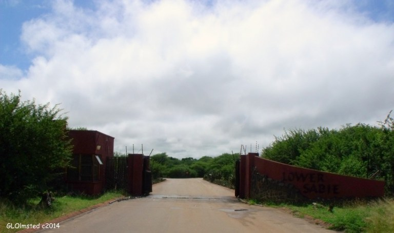 Lower Sabie Camp entrance Kruger National Park South Africa