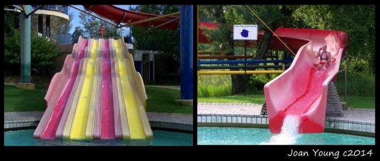 Gaelyn on slides Forever Resorts Badplaas South Africa
