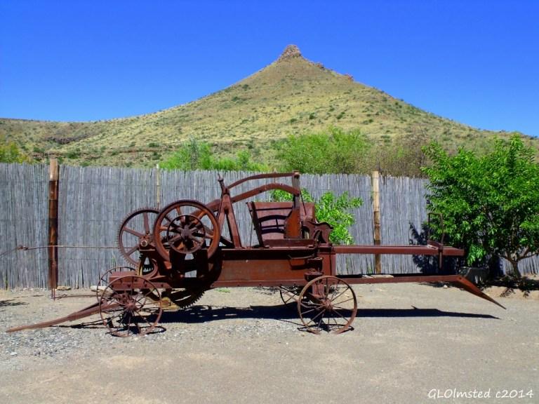 Farm implement Interpretive Center Karoo National Park South Africa