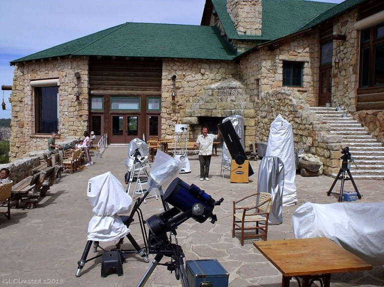 02 Telescopes on Lodge veranda NR GRCA NP AZ g (1024x767)