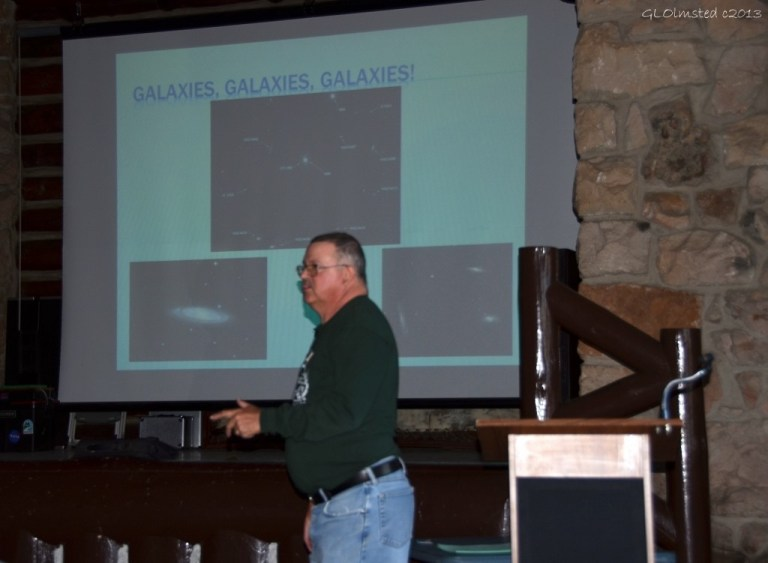 03 339 Amateur astronomer Steve Dodder presents at Star Party NR GRCA NP AZ g (1024x751)