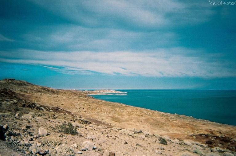 Sea of Cortez from road to Porto Cito Baja Mexico