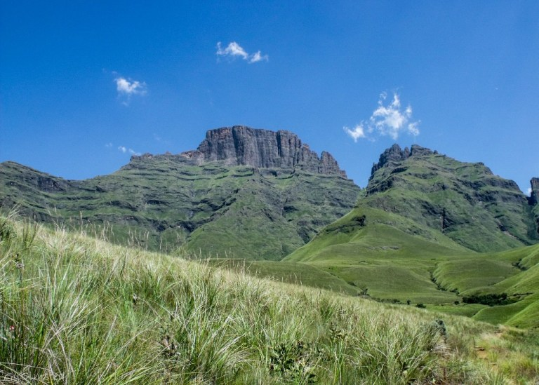 Drakensburg hike KwaZulu-Natal South Africa