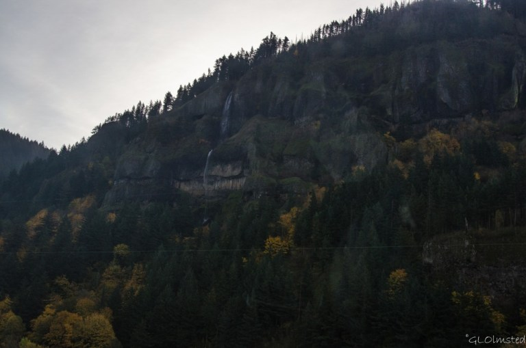 Waterfall Columbia River Gorge I84 Oregon